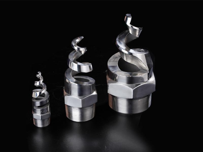 不锈钢螺旋喷头的规格型号及特点分析