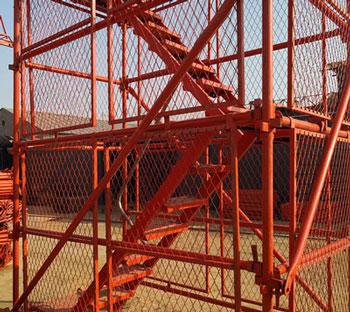 桥梁安全爬梯