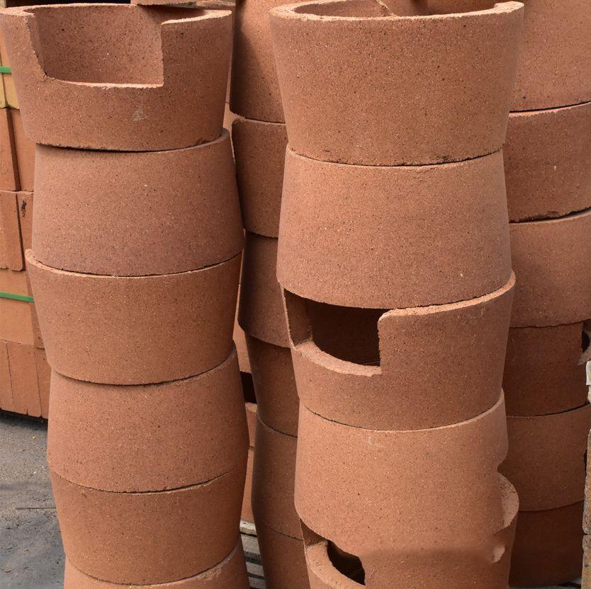 高铝耐火砖在使用中有几种蚀损的情况
