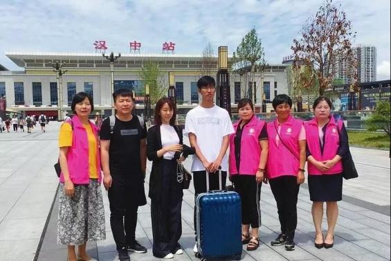 省市巾帼志愿者协会圆了他的大学梦