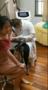 哈尔滨小姑娘洗纹身今天治疗完就走了!