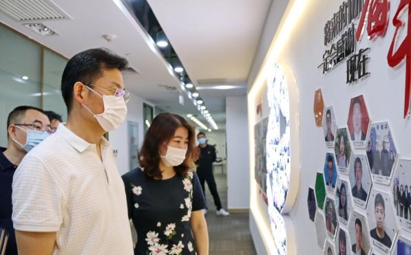 李強書記調研指導北京新能源基層黨建工作