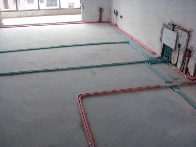 家装电线电路布线图