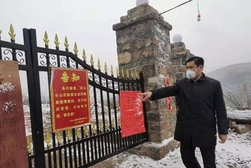 区委统战部持续加强宗教领域疫情防控工作