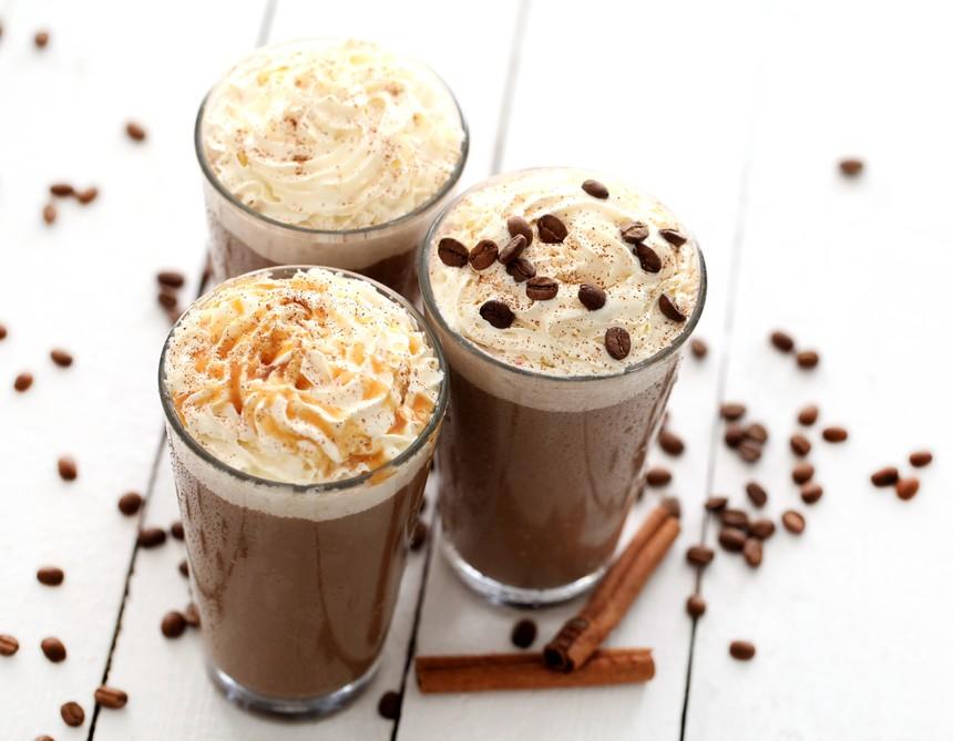 冰冻摩卡咖啡的做法