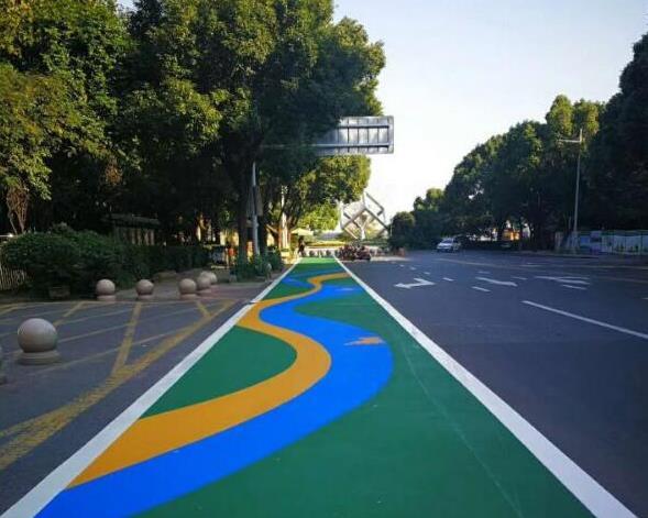 彩色沥青路面的保养维护方法和优势