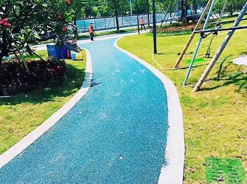 彩色沥青防滑路面