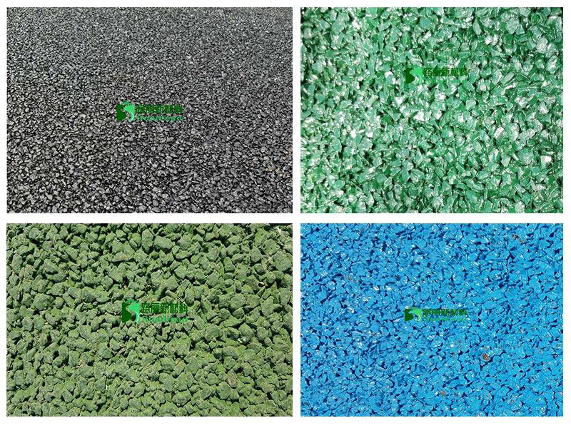 冷拌彩色沥青路面材料