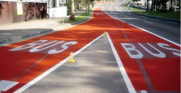 彩色防滑路