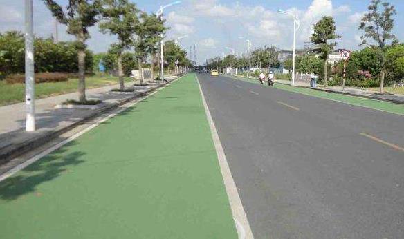 彩色沥青施彩色沥青路面