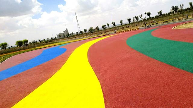 彩色沥青路面施工工艺,彩色沥青路面施工,彩色沥青路面