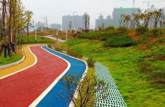 彩色沥青混凝土路面配合比设计