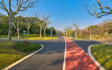 彩色沥青混凝土路面