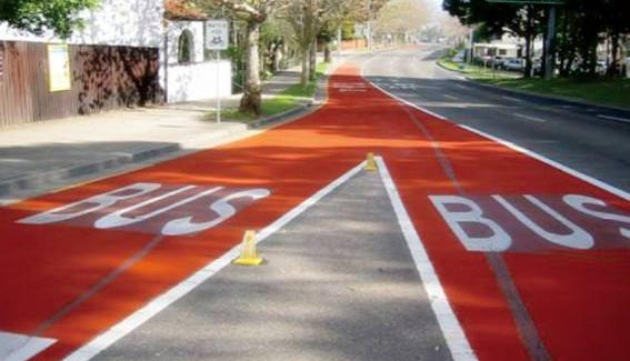 彩色喷涂路面