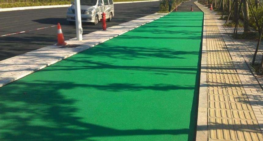 彩色沥青路面施工要求