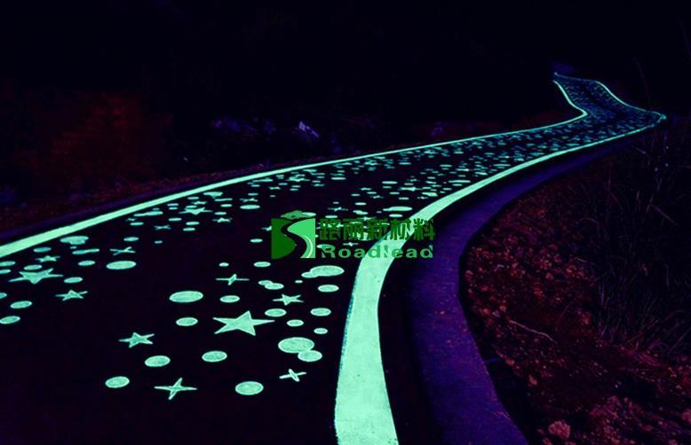 夜光路面图案