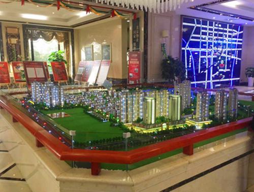 济南工业模型