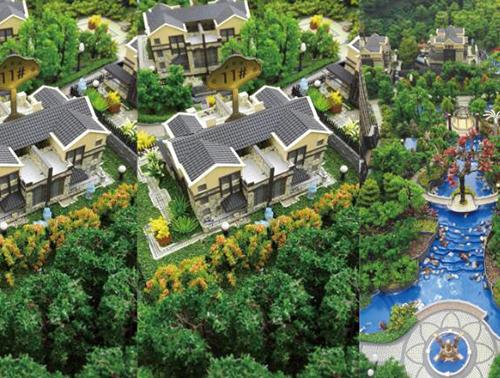 济南沙盘模型