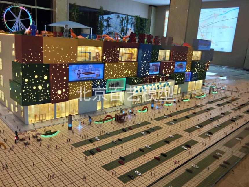 建筑沙盘模型在建筑沙盘体现规划中的作用相当大