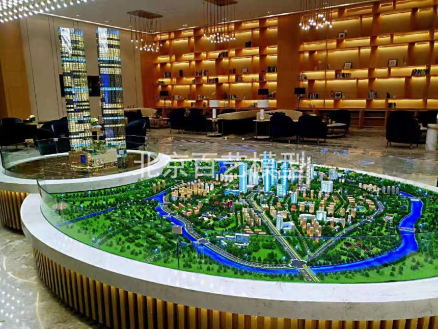 建筑沙盘模型周密地制定施工计划和合理安排施工步骤