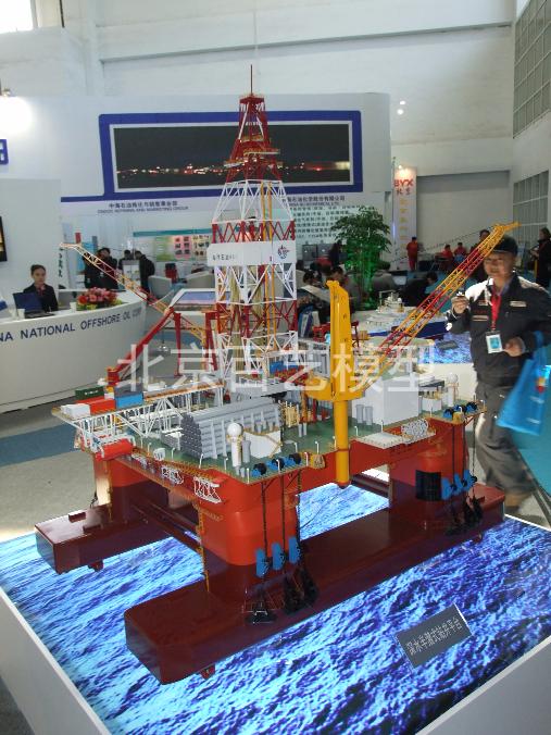 981海洋平台模型