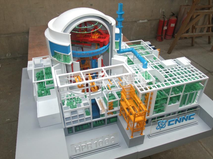 華龍一號3D打印模型