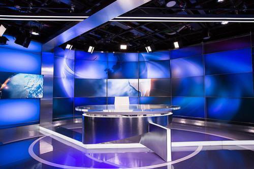 央视主播室