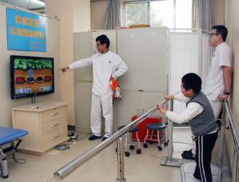AR医院互动投影