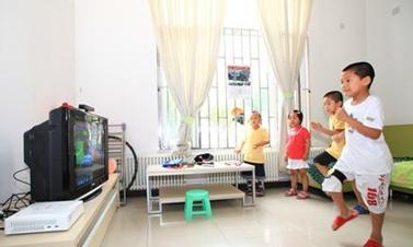 AR幼儿教育互动投影