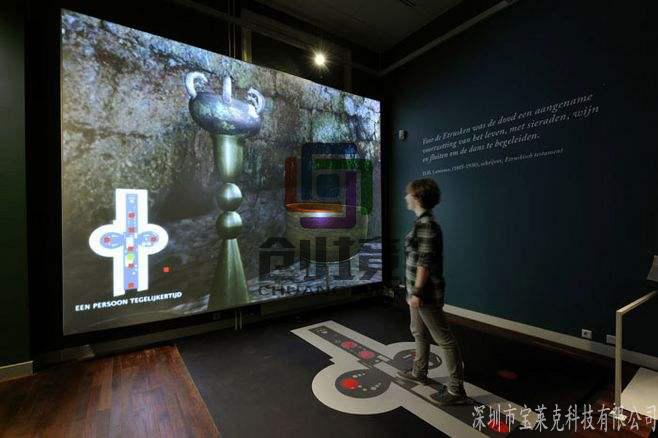 多媒体展厅带动远程教育发展