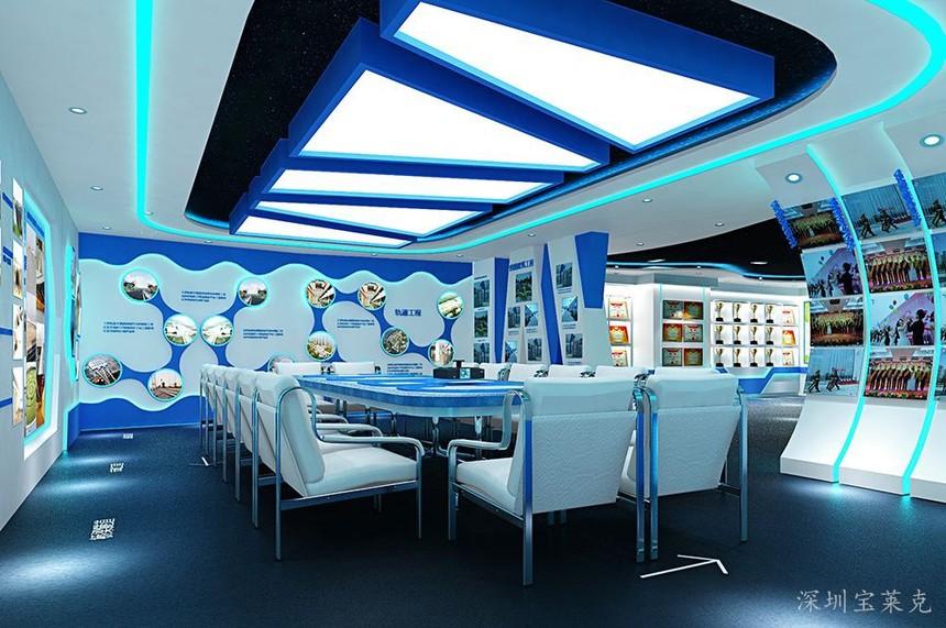 如何提升企业多媒体展厅设计吸引力
