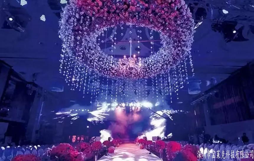 全息投影让婚礼成为梦幻的回忆