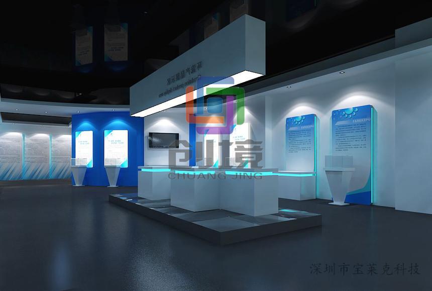 区别企业展厅设计和传统博览会