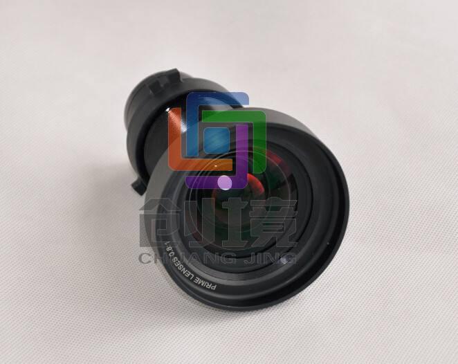工程投影机镜头有几种主要类型?特点是什么?