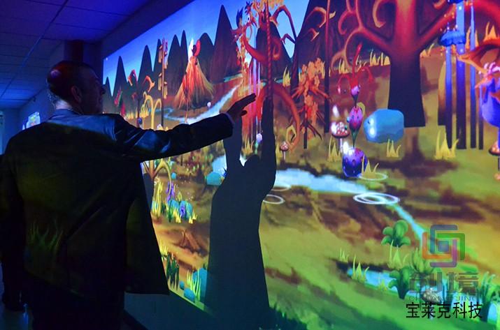 互动投影游戏产品《抽象世界》