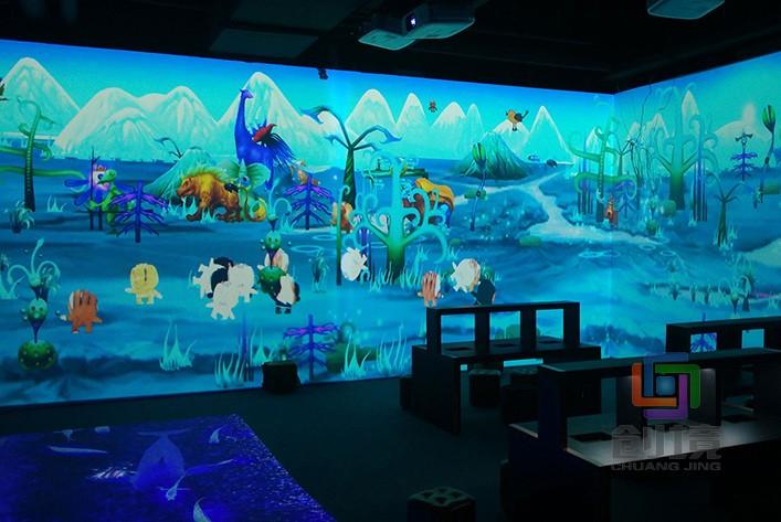兒童互動投影游戲《抽象世界》
