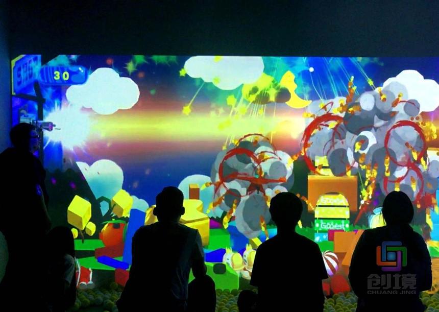 儿童互动投影游戏《童话小王子》