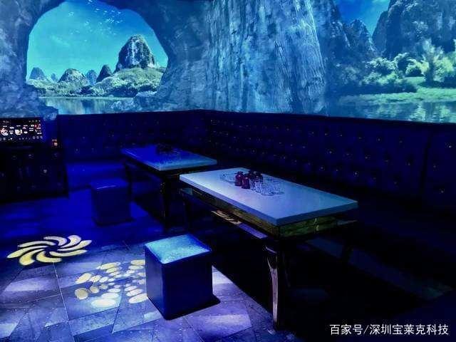 """全息餐厅︱坐在""""大海中""""吃饭是什么感觉"""