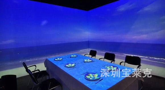 沉浸式情景餐厅成为工程投影应用下沉的典型应用