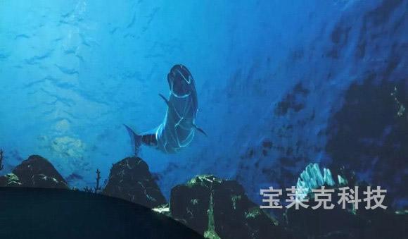 虚拟水族馆——中航国画工程投影创意应用案例