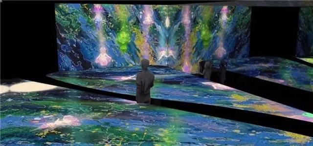 沉浸式互动投影︱巴日林星球