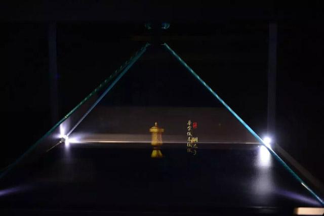 裸眼3D效果的全息影像技术