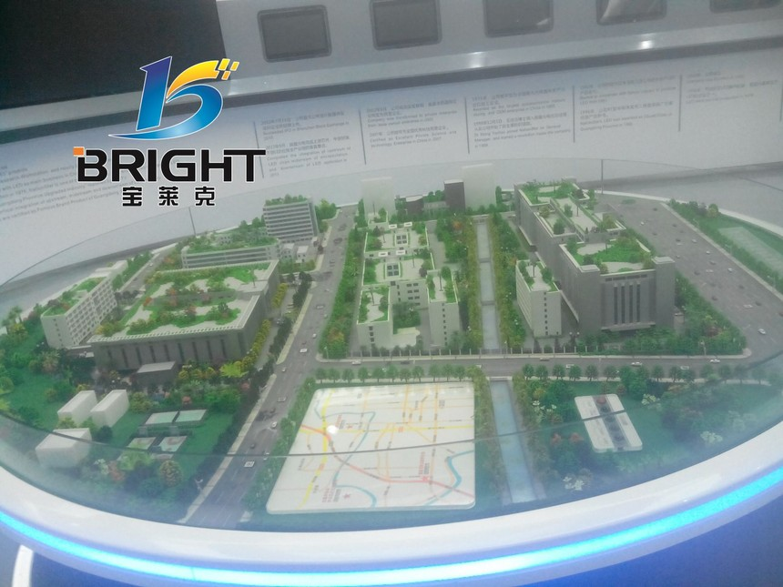 光電企業數字展廳案例圖片6
