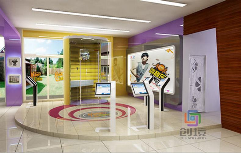 企业多媒体展厅常用的数字展项