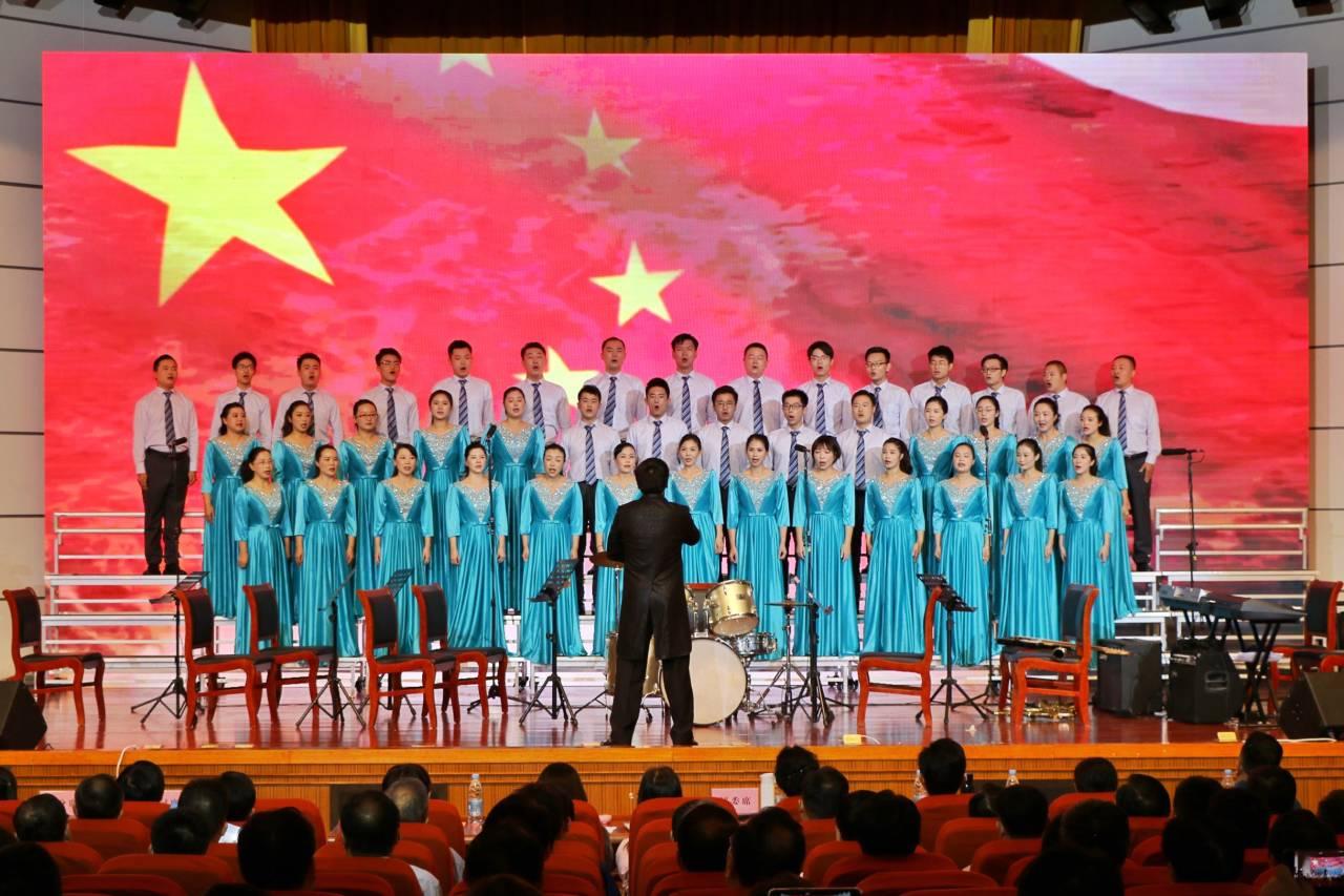 市直单位庆祝中华人民共和国成立70周年合唱比赛举行