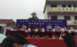 """霍邱乌龙镇志愿者与童心共绘""""中国梦"""""""