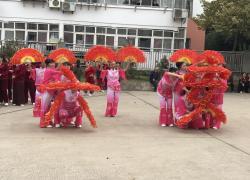 """白鹭洲社区开展""""我们的节日——重阳节""""文艺汇演"""