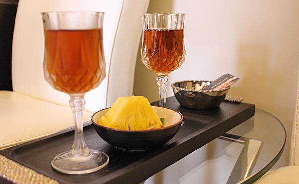 武汉spa会所为客人提供的饮料