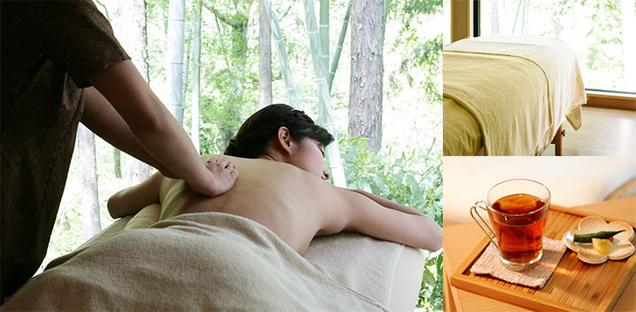 女性私人温泉spa