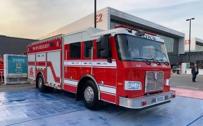 【视频】尽显军工品质风采 中集联合卡车参展中国消防展